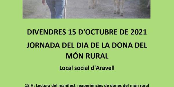 JORNADA DEL DIA DE LA DONA DEL MÓN RURAL