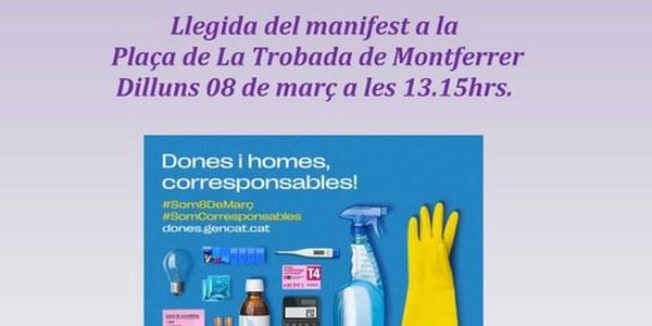 MANIFEST DIA INTERNACIONAL DE LA DONA